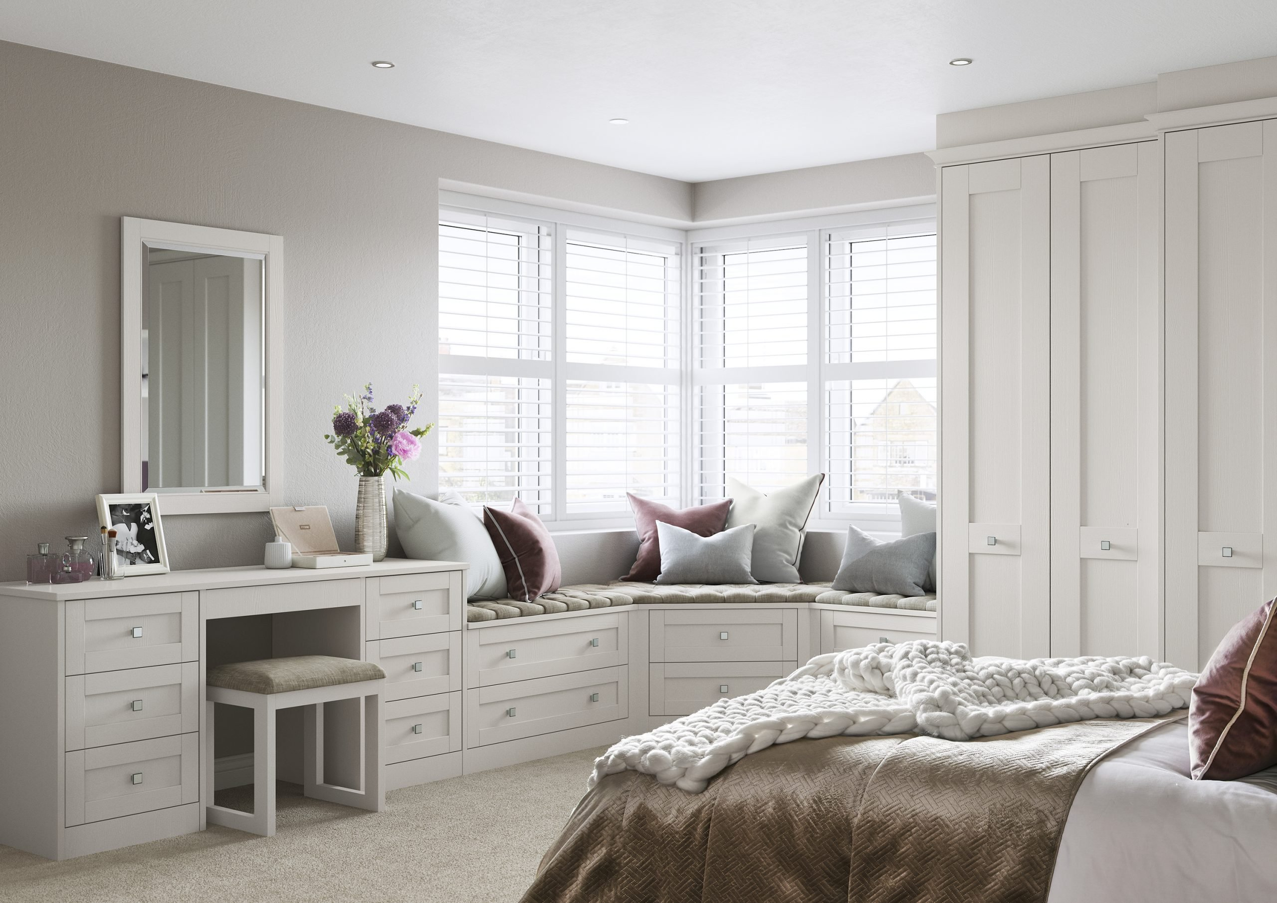 Shaker Fitted Bedrooms