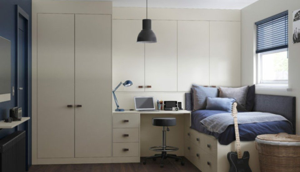 Lustro Fitted Bedroom Wardrobes