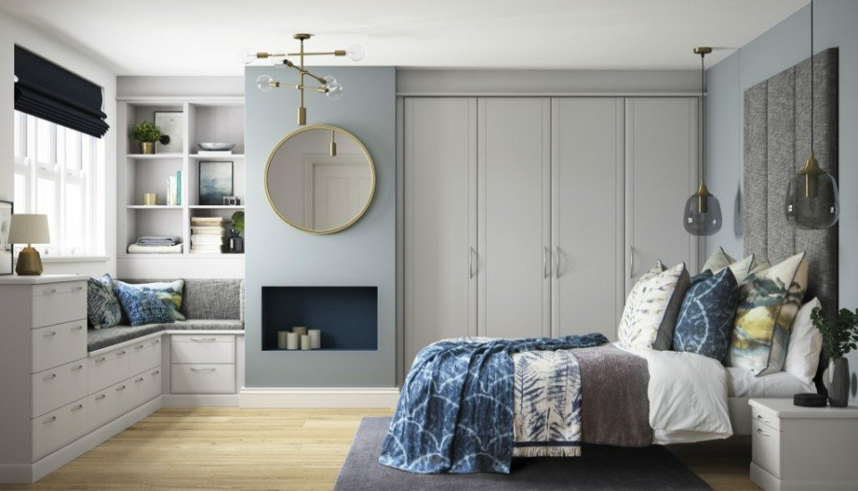Milan Fitted Bedroom Wardrobes