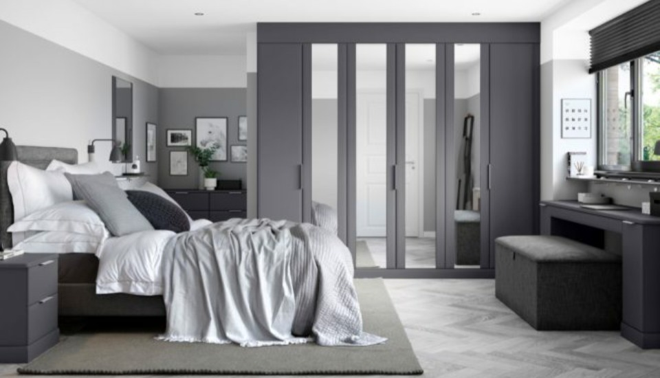 Sienna Fitted Bedroom Wardrobes