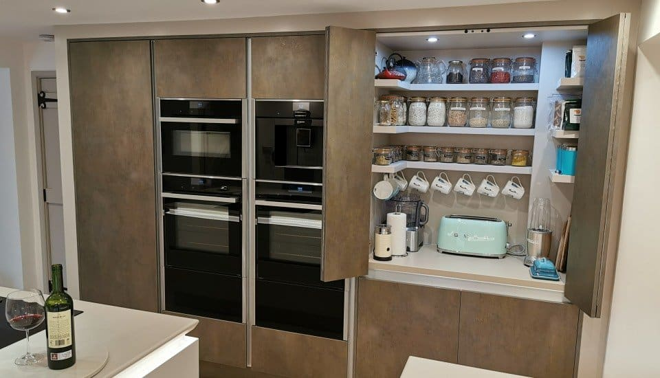 Amazing Pantry Unit